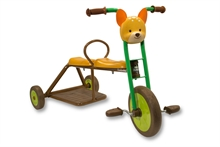 12'' Tricycle 2 places Renard - 3/6 ans