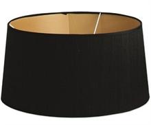 Abat jour Raffia Noir - 45x45x23cm