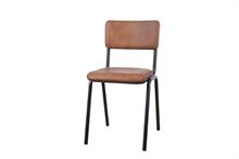 LSB Chaise diner Ecole marron clair - 48x43x81cm TPS30_6%