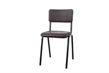 LSB Chaise diner Ecole couleur métal - 48x43x81cm TPS30_6%