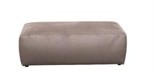 HC LSNB Pouf de canapé Genua VELOURS Gris 120x60x40cm TPS50_4% #