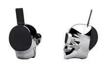 Enceinte AEROSKULL HD+ Argent 120 Watts - 27.2x20.8x27cm