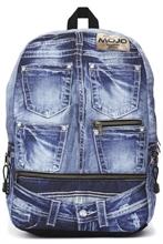 HC6 MOJO Sac à dos  1 compart. ordi 45x30x17cm Jeans 2019-2% #