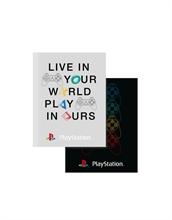 Playstation - Eat, Sleep, Repeat - Cahier d'exe. A5 ligné 40 feui pack de 3 - %