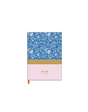 Rice - Celebrate Good Times - Carnet de notes A5 ligné - bleu - %