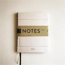 T+M - Carnet de notes A5 - Ligné en pointillé - %