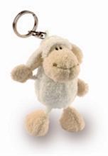 HC2 Porte-clés Mouton Blanc 10cm - #