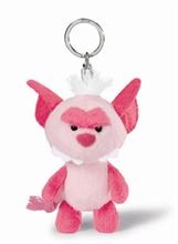 HC3 Porte-clés Monstre Rose Vif 10cm #