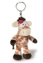 WF16 Porte-clés Girafe Debbie 10cm