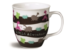 HC4 WF16 Mug Wild Friends en porcelaine ø9,5x10cm #