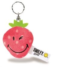 Smiley - Porte-clés Fraise 6cm