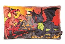 HC3 CR16 Coussin Dragons 43x25cm #