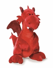 HC3 CR16 Dragon rouge assis approx. 45cm #