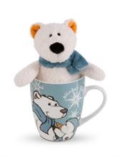 HC3 WI18 Giftset Peluche Ours polaire Bignic 15cm + mug #