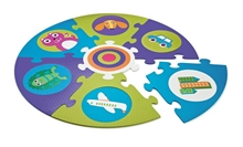 Safe and Fun Playmat - City - Tapis puzzle mousse