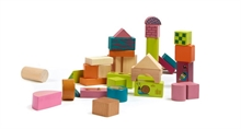 Happy Building Blocks - Boîte de 50 blocs de construction