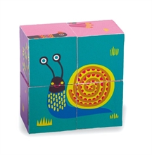 Easy-Blocks - Forest - Boîte puzzle 4 cubes