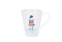 HC3 PG Grand mug illustré Les pieds dans l eau Bleu  - 30cl
