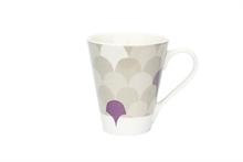 HC3 PG Grand mug Motif Le Lâcher de ballons Taupe - 30cl