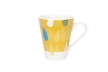 HC3 PG Grand mug Motif Trois gouttes de pluie Curry - 30cl
