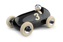Playforever - Voiture Bruno - Noir/Chrome - L.26,5 cm - %