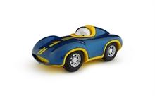 Playforever - Voiture Speedy Le Mans - Bleu Roi/Jaune - L.16,5 cm - %