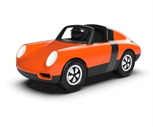 Playforever - Voiture Luft Biba - Orange - L.17,5cm - %