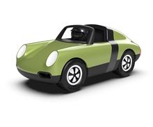 Playforever - Voiture Luft Hopper - Vert Olive/Noir - L.17,5cm - %