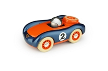 Playforever - Voiture Verve Viglietta Jesper Bleu/Orange - L.16,5 cm - %