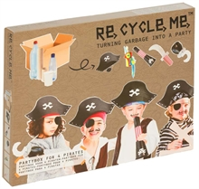 ReCycleMe Extra-large - Costumes de pirate x4pcs
