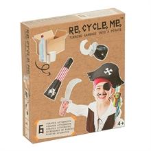 ReCycleMe Large - Costume de pirate x1pcs