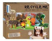 ReCycleMe Extra-large - Crée ton monde de dinosaures