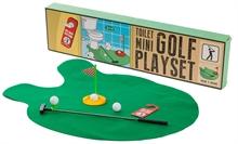 Jeu de golf pour toilettes %