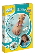 Kit créatif - Oceano - Crée tes bijoux marin - A4