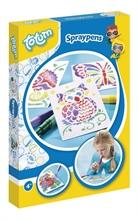 Kit créatif - Spraypens - Marqueurs à souffler - A4