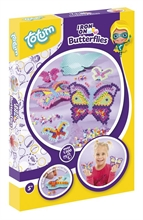 HC5 Kit créatif - Iron On Butterflies - Fabrique tes papillons en perles #