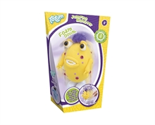HC5 Crée ton monstre sauteur jaune en pâte autodurcissante #