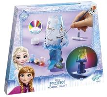 HC4 Reine des neiges - Crée ta lampe #