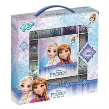 Reine des neiges - Boîte d''autocollants 12R+2F+Carnet