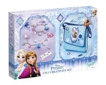 Reine des neiges - 2 en 1 Set créatif (Charms et Sac besace)