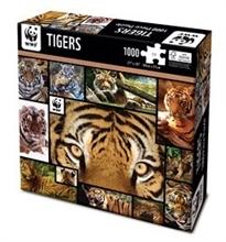 WWF 1000 pieces puzzle - Tigres