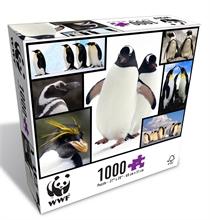 WWF 1000 pieces puzzle - Pingouins