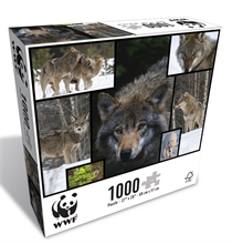 WWF 1000 pieces puzzle - Loups
