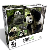 WWF 1000 pieces puzzle - Pandas