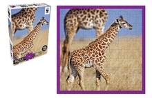 WWF 100 pieces puzzle - Girafon