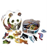 WWF Puzzle animaux des formes